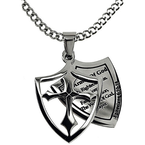 Armor of God Necklace Shield of Faith