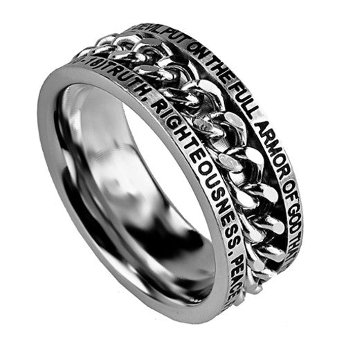 Armor of God Ring