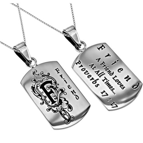 Best Friend Dog Tag Christian
