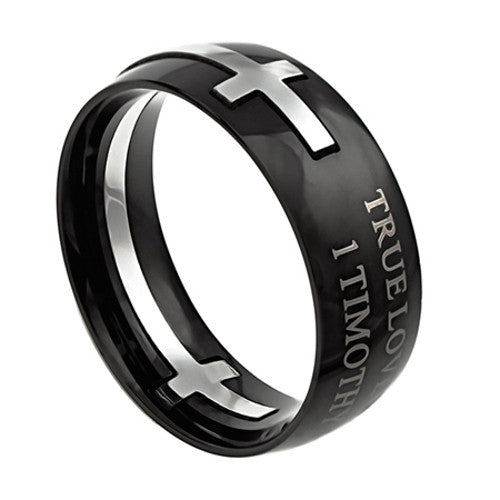 1 Timothy 4:12 True Love Waits Ring