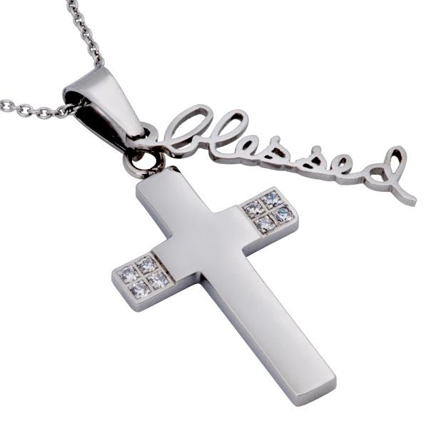 Blessed Necklace Cross