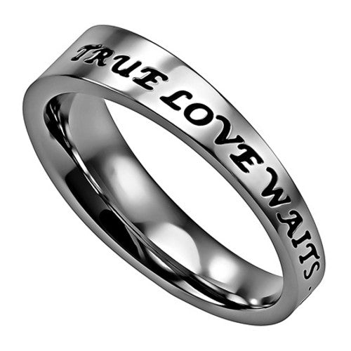 Cheap True Love Waits Ring