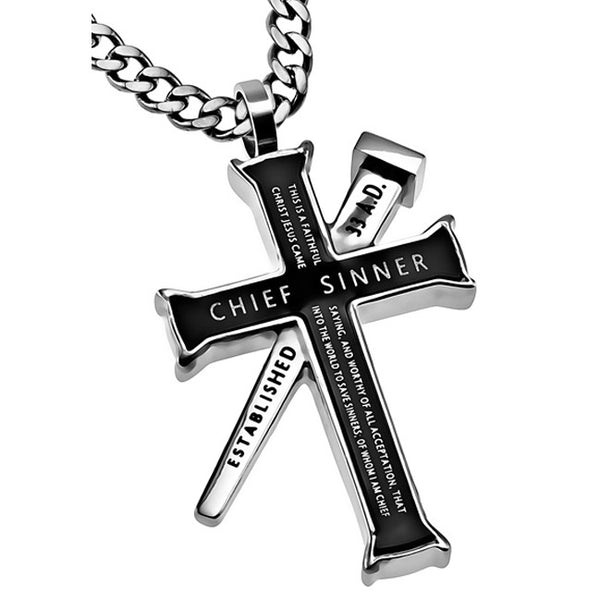 Chief Sinner Ephesians Necklace