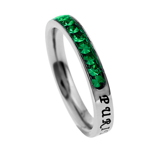 Christian Purity Ring May Birthstone