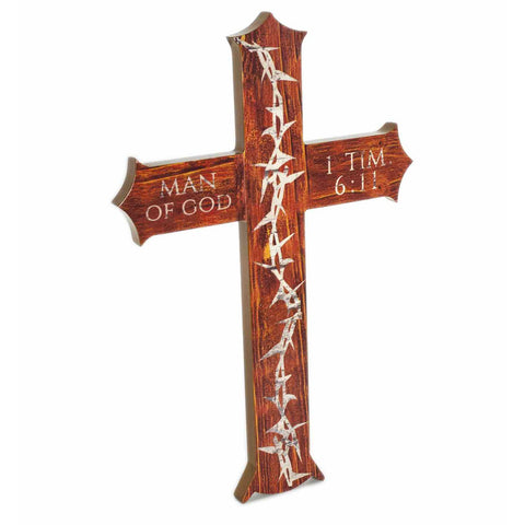 Crown Of Thorns Cross Decoration Man Of God