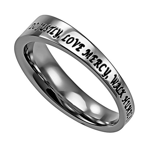Divine Mercy Cross Ring
