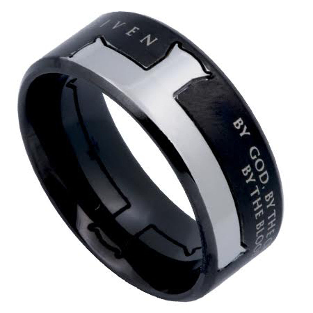 Forgiven Jewelry Ring Black