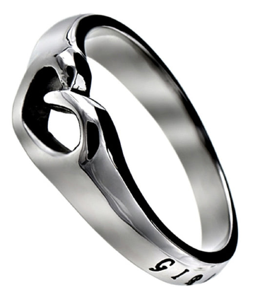 Girl Of God Proverbs Ring
