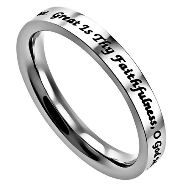 Great Is Thy Faithfulness Ring