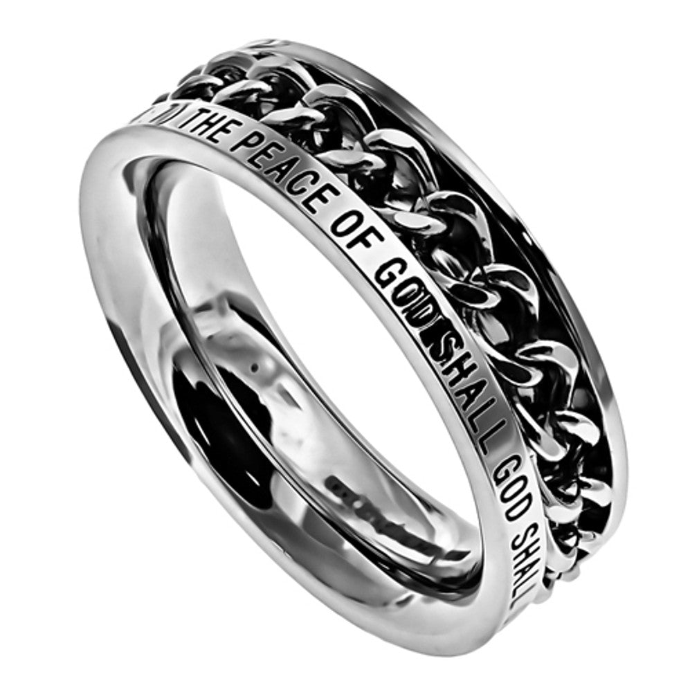 Guarded Philippians Ring