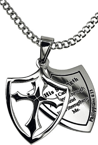 His Strength Isaiah Necklace
