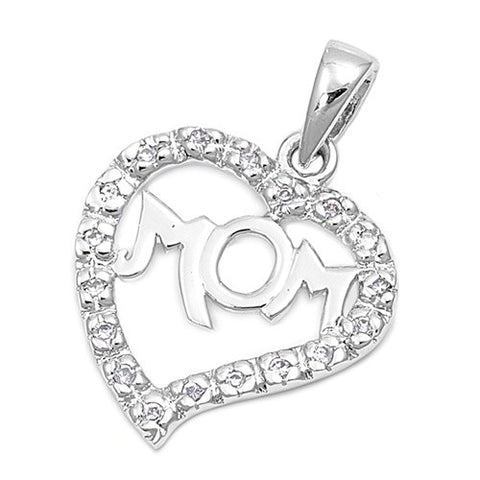 I Love Mom Necklace