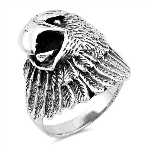 Isaiah 40:31 Eagle Ring Jewelry