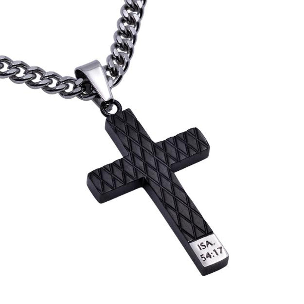Isaiah 54:17 No Weapon Necklace