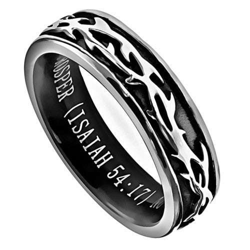 Protection Rings for Women Isaiah 54:17
