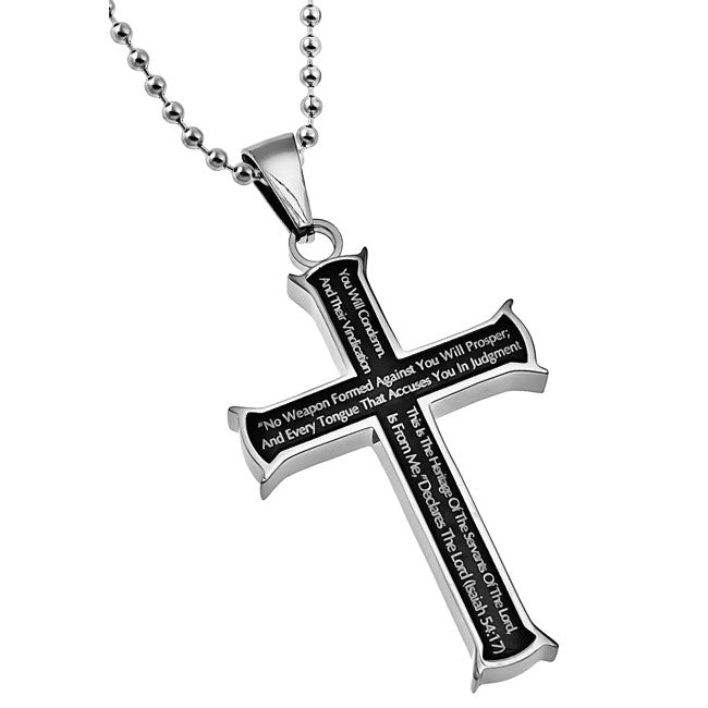 Isaiah 54:17 Necklace