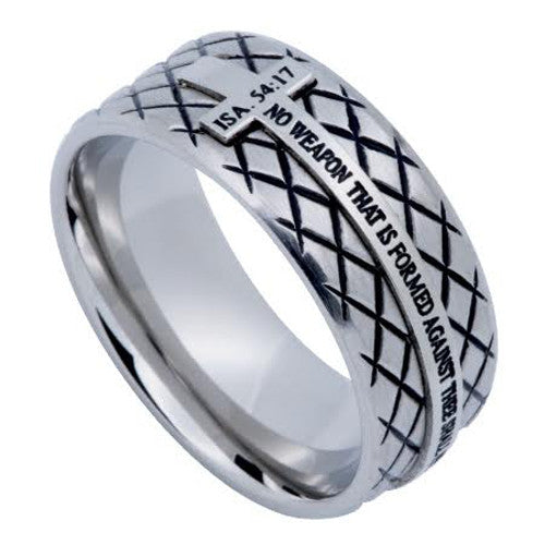 Isaiah 54:17 Protection Ring