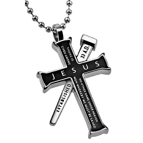 Jesus Acts Necklace