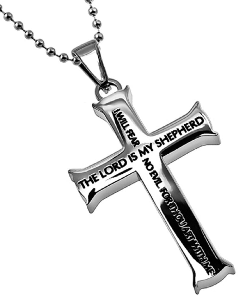 Lord Is My Shepherd Psalm Necklace