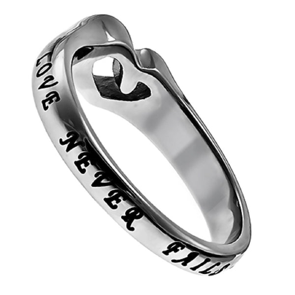 Love Never Fails Cor Ring