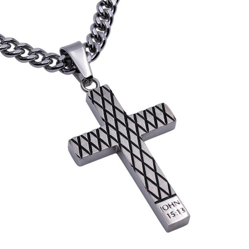 John 15:13 Forgiven Necklace