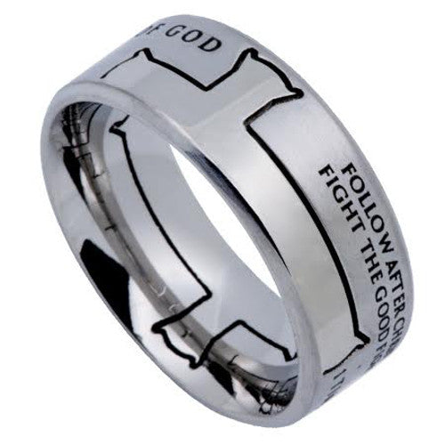 Man Of God Bible Verse Ring