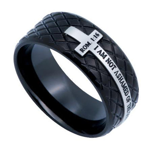 Men's Christian Ring