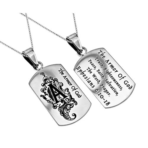 Women's Armor of God Dog Tag