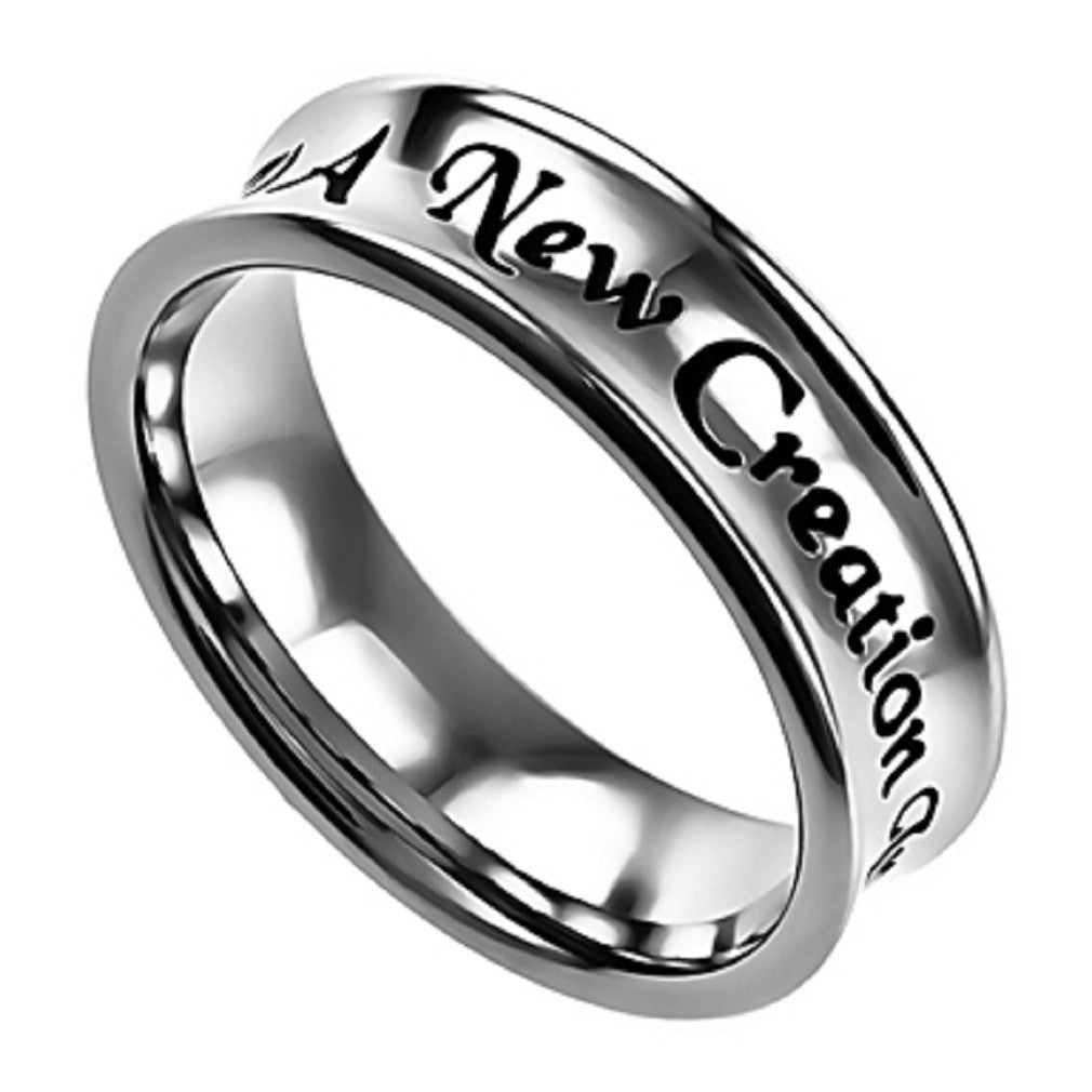 New Creation 2 Corinthians Ring
