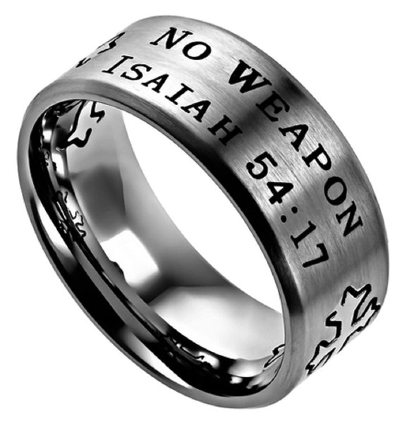 No Weapon Isa Ring