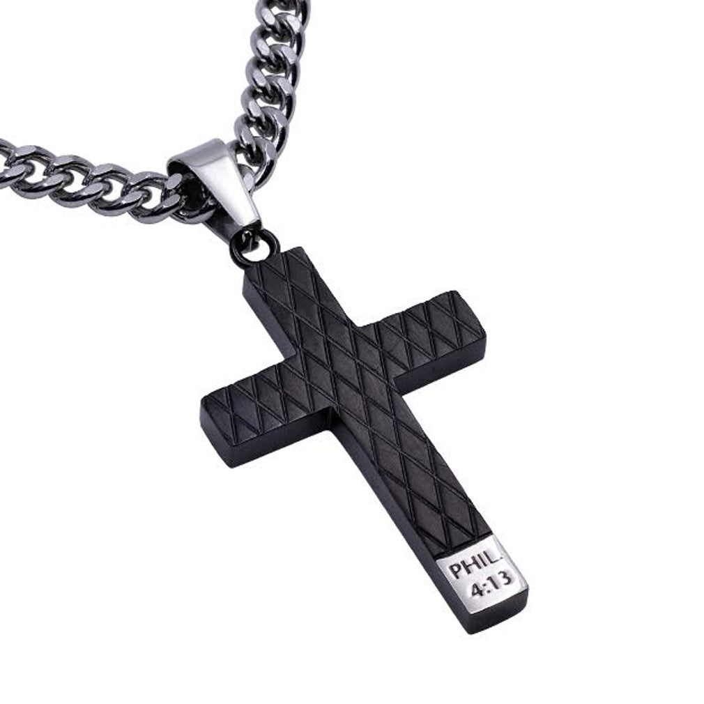 Philippians 4:13 Christ My Strength Necklace
