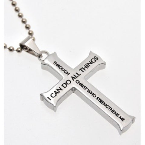 Philippians 4:13 Necklace