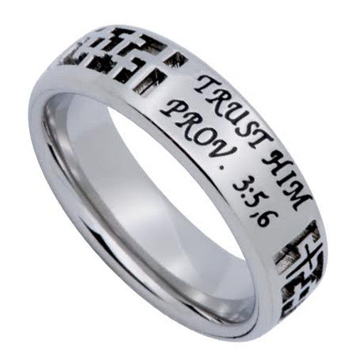 Proverbs 3: 5-6 Ring