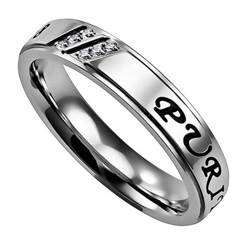 Purity Promise Ring For Teen Girls