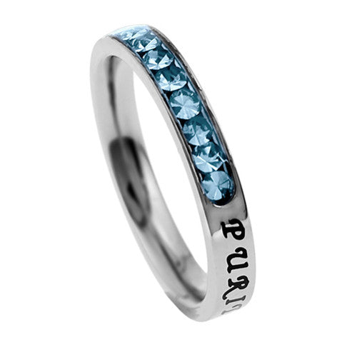 Purity Ring March Birthstone
