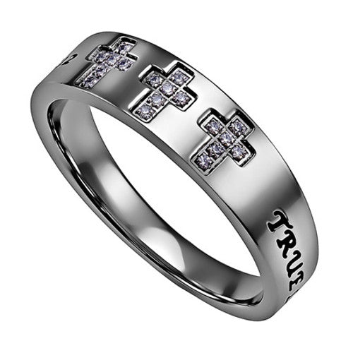 Purity Ring That Say True Love Waits