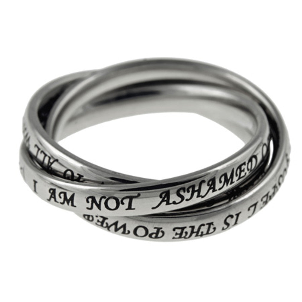 interlocking ring Romans 1:16