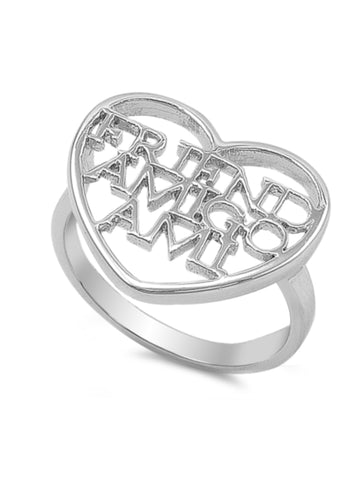 Friend Amigo Ami Heart Ring