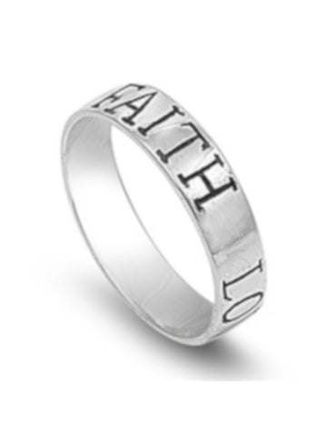 Faith Love Hope Ring