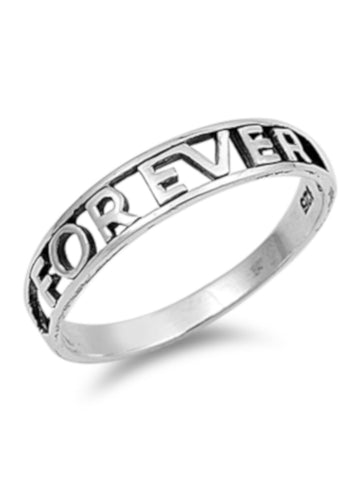 Simple Forever Thin Band Ring