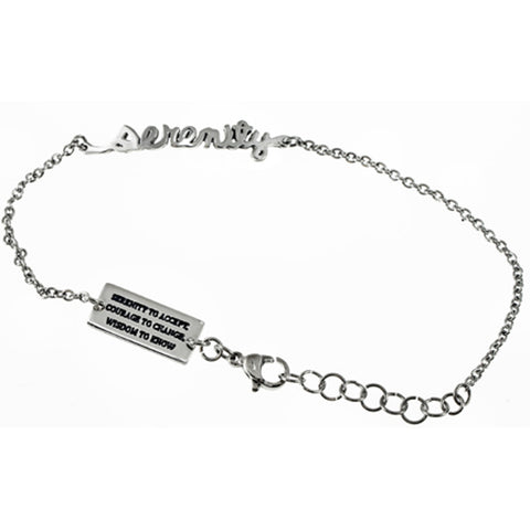 Serenity Handwriting Bracelet