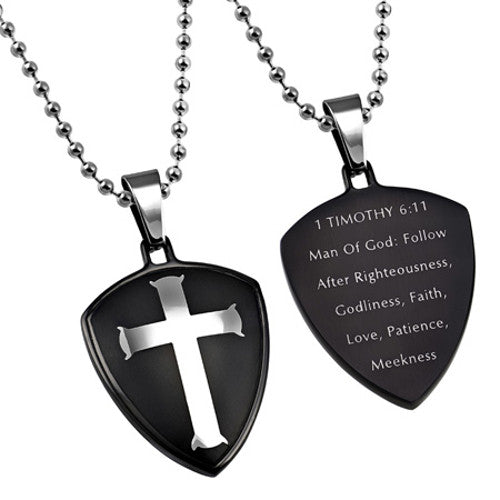 Shield of Faith Man Of God Necklace