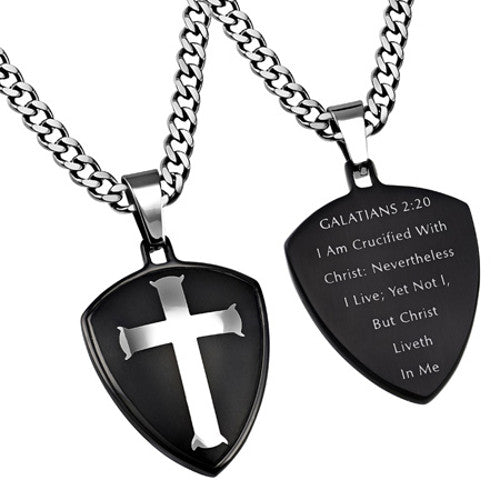 Galatians 2:20 Necklace