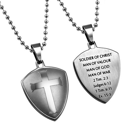 Shield of Faith Necklace Man of God