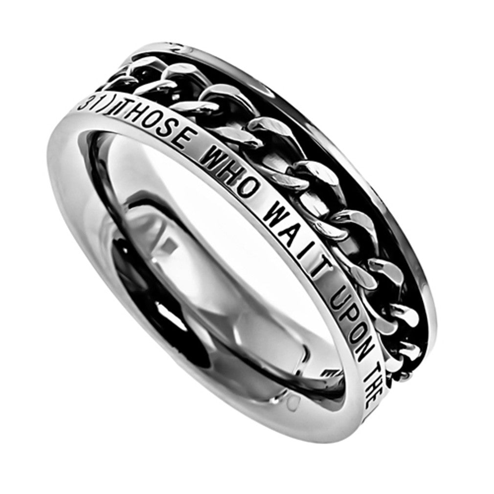 Strength Isaiah Spinner Ring