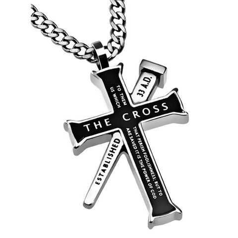 The Cross 1 Corinthians Necklace