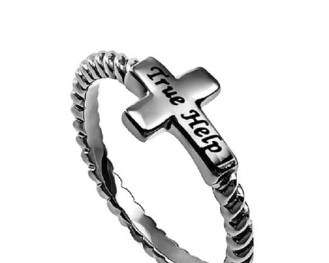 True Help Jesus Ring