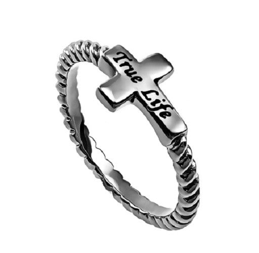 True Life Jesus Ring