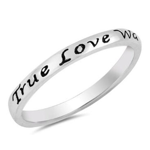True Love Waits Ring For Girls