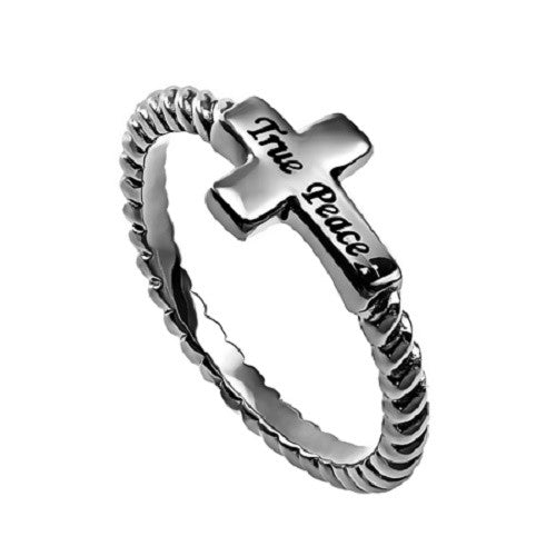 True Peace Jesus Ring
